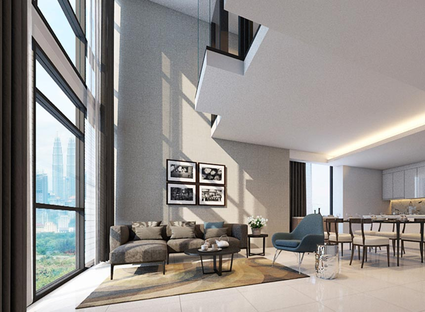 Layouts Amp Specs For Tribeca Serviced Apartment In Kuala Lumpur