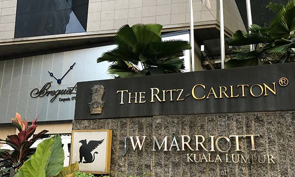 The Ritz-Carlton, JW Marriott