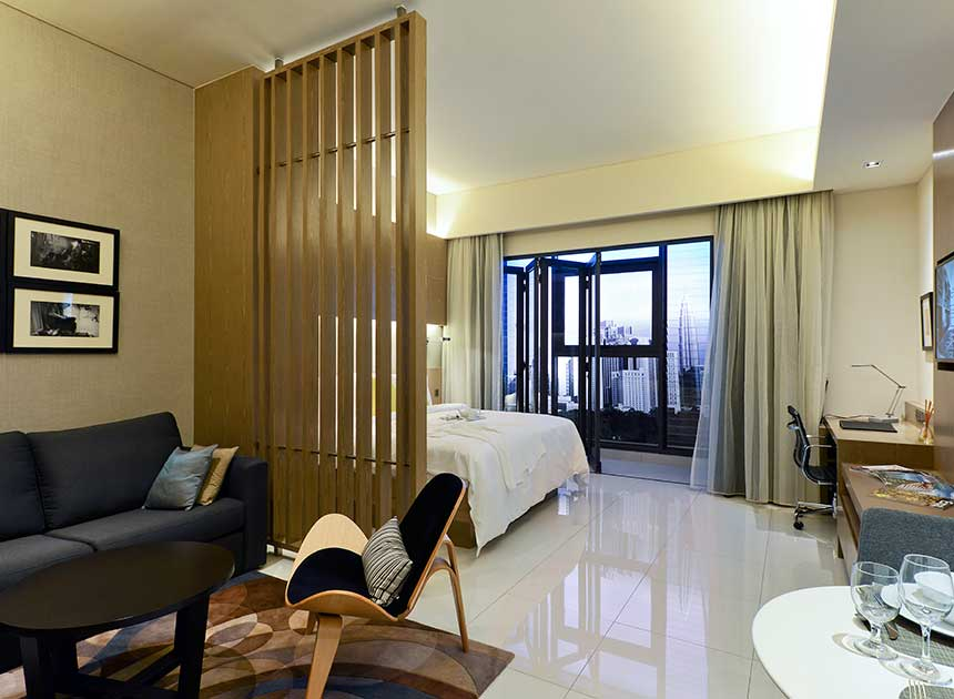 serviced suites in kl